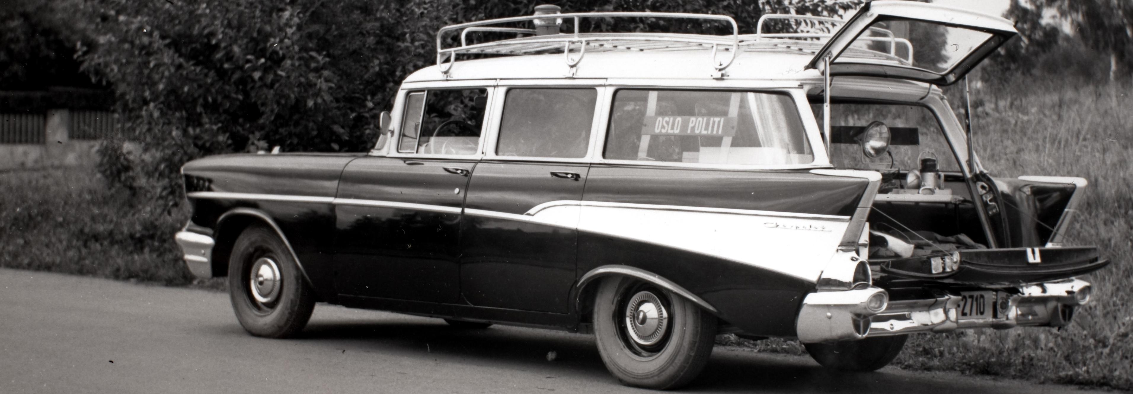 Tjenestebil-1957-Chevrolet-210-Station-Wagon-Bel-Air-Oslo-pkm-Karusell
